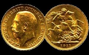Gouden Sovereign (brits pondje) verkopen