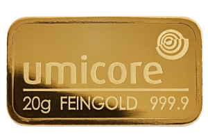 Goudbaar verkopen 'Umicore'