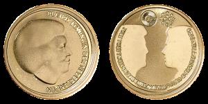 Gouden tien euromunt verkopen