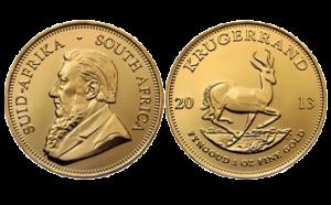 Gouden Zuid-Afrikaanse krugerrand verkopen