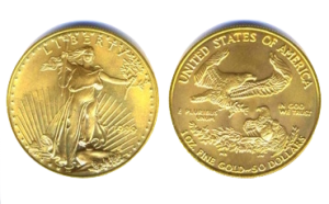 Gouden Eagle munt verkopen
