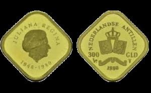 Gouden 300 gulden Nederlandse Antillen