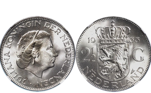 Zilveren Rijksdaalder Verkopen (Juliana)