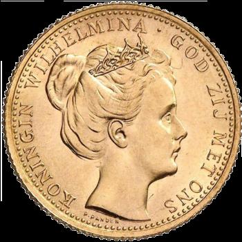 Gouden tien gulden-0