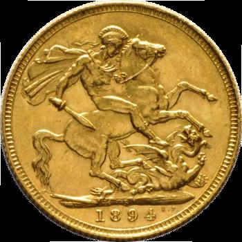 Engelse Sovereign (Brits pondje)-0