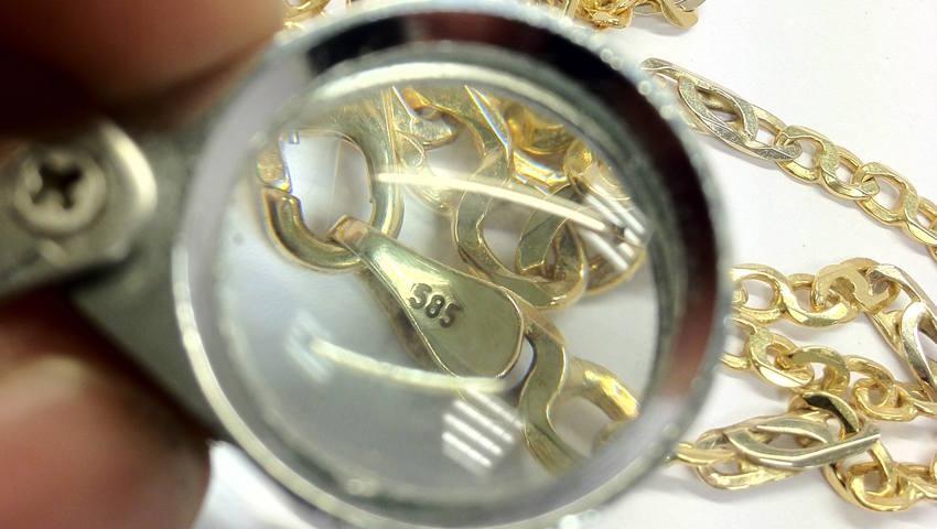 Hoeveel karaat goud is 585